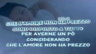 tutto l'amore che ho Karaoke con sottocanto Jovanotti e testo