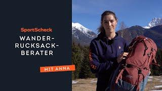 SportScheck Wanderrucksackberater mit Outdoor-Expertin Anna Berger | Finde den perfekten Rucksack