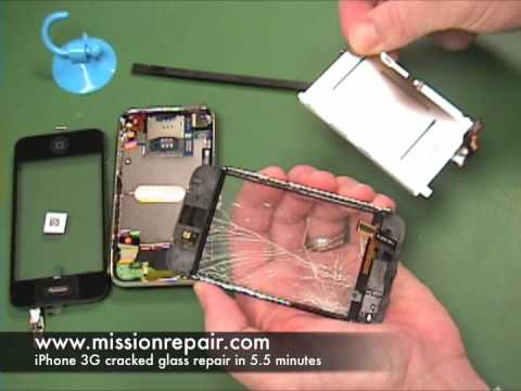 Best iPhone 3G Repair Video – Fix cracked glass fast! | MissionRepair.com