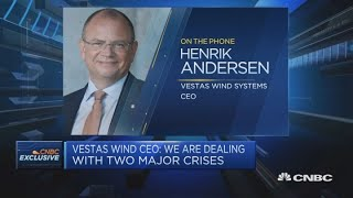 Renewables should play a role in economic recovery: Vestas Wind Systems CEO