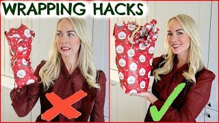 LIFE-CHANGING GIFT WRAPPING HACKS