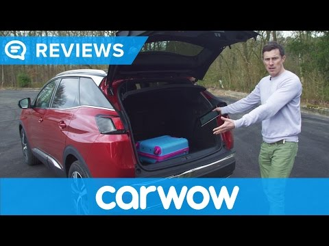 Peugeot 3008 2017 SUV practicality review | Mat Watson Reviews