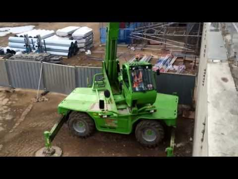 GT Lifting Merlo 40.26 Roto in Action