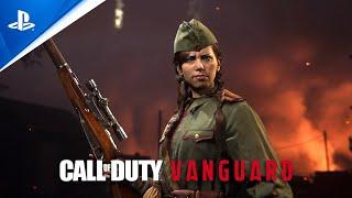 PlayStation Call of Duty: Vanguard - Polina Petrova Intro   PS5, PS4 anuncio