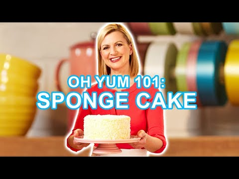 Professional Baker Teaches You How To Make SPONGE CAKE LIVE!