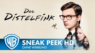 DER DISTELFINK - 8 Minuten Sneak Peek Deutsch HD German (2020)
