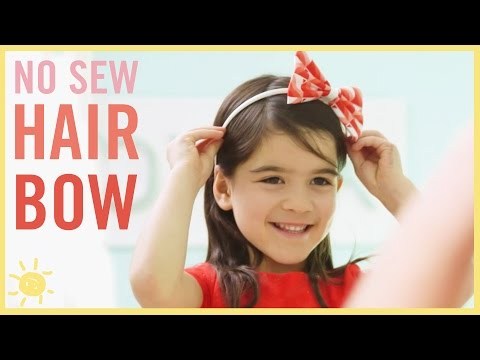DIY I No Sew Hair Bow (Cheap & Easy!)