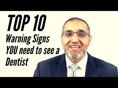 Top 10 Warning Signs YOU Need to See a Dentist
