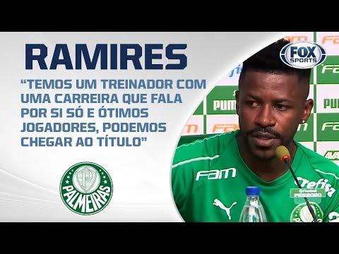 PALMEIRAS AO VIVO! Ramires e Luiz Adriano concedem entrevista coletiva