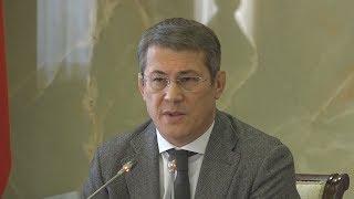 UTV. Радий Хабиров выяснил кто должен выдавать больничные листы в районах Башкирии