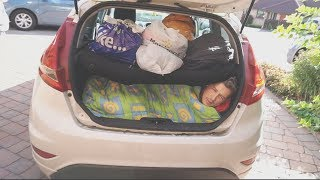 I Spent the Night in a Car & I Didn't Expect This… (Sleep in a Car Challenge)