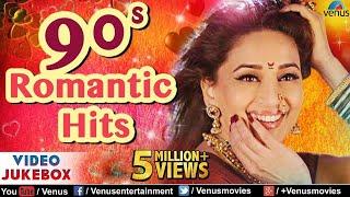 90's Romantic Hits   Top 21 Bollywood Evergreen Hindi Songs   JUKEBOX   Popular Hindi Love Songs