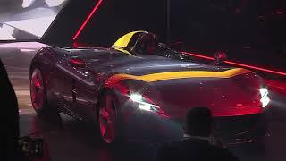 Ferrari Icona Monza SP1 and SP2 Unveiling