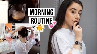 MY MORNING ROUTINE ☕️ // Long Hair Edition - Video Youtube