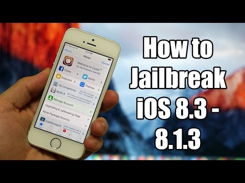 How to Jailbreak iOS 8.3, iOS 8.2, iOS 8.1.3 - TaiG 2.1.2 on iPhone, iPad, iPod