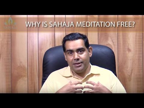 Why Sahaja is free