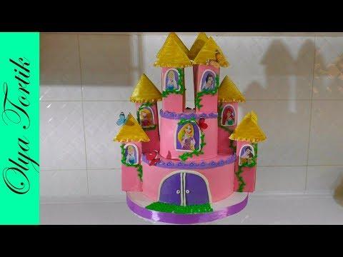 Как приготовить торт замок в домашних условиях