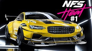 Need for Speed HEAT Gameplay Walkthrough Part 1 - The Intro! (Full Game)