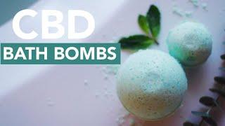 DIY CBD Bath Bombs | Last Minute Gift Idea!