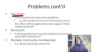 What is wrong with virtue ethics