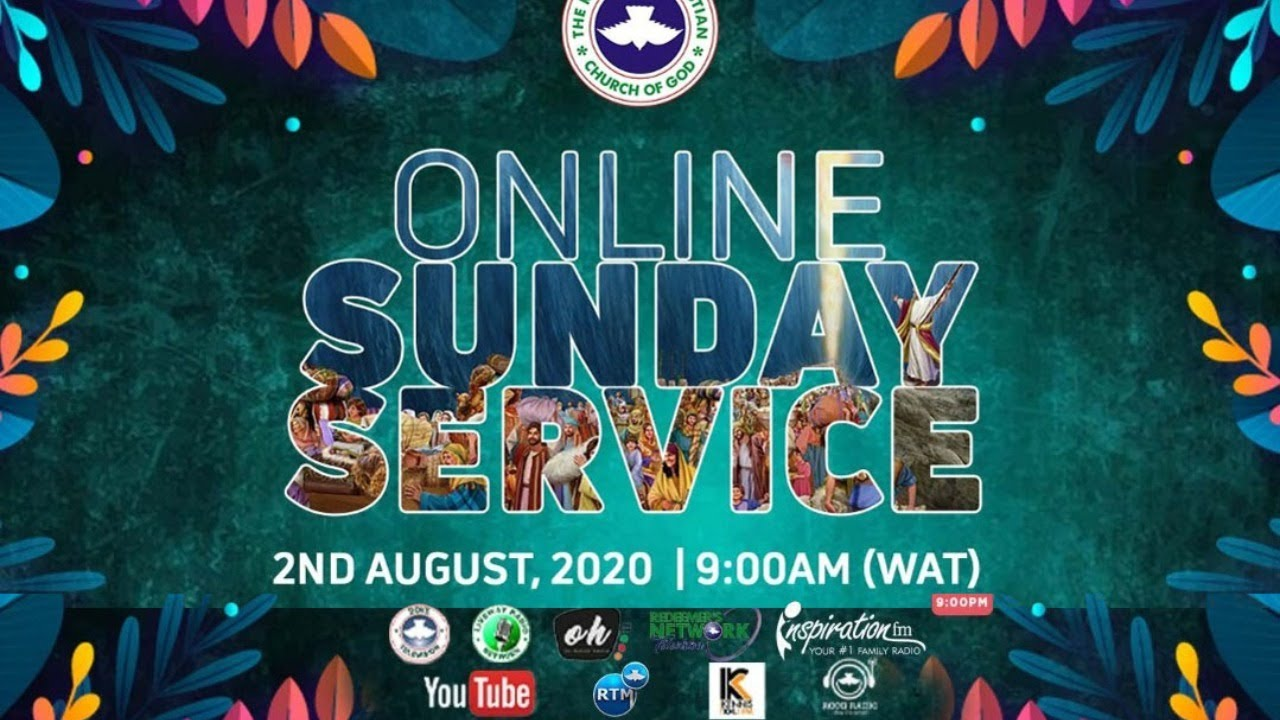 RCCG Sunday Service 2nd August 2020 by Pastor E. A. Adeboye - Livestreaming