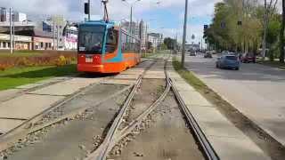 Пермь Трамвай Маршрут 10