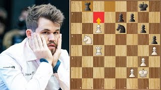 Only Superhuman Moves Count || Anand vs Carlsen || || Tata Steel Masters (2020)