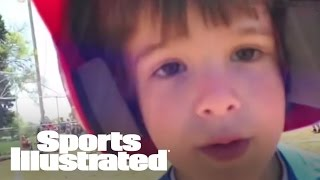 Mustard Minute: Cute Kid Stops Running Bases To Say I Love You To Dad | Sports Illustrated