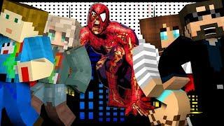 Minecraft: SPIDERMAN MURDER   MODDED MINI-GAME
