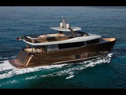 #2018 Cantiere delle Marche Nauta Air 86#Super Yacht#LIVE RICH