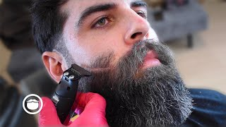 Attractive Guy's Barbershop Haircut Takes His Looks to the Next Level | Tipp the Barber