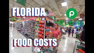 Food Costs Florida: Publix Supermarket Tour To See If There Is Panic Buying
