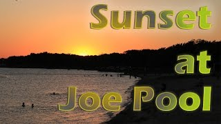 Sunset At The Joe Pool Lake