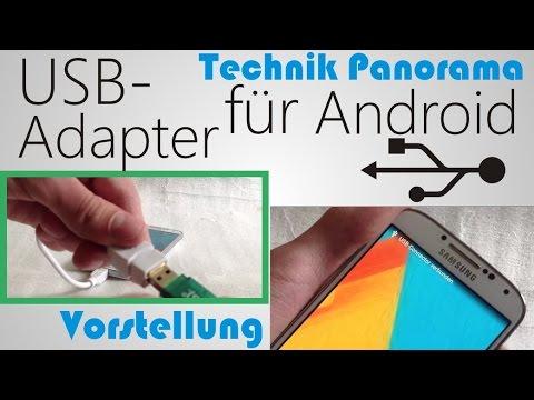 Vorstellung Micro USB auf USB OTG Kabel - TechnikPanorama