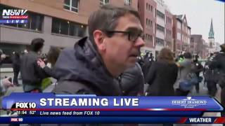 MASS CHAOS: DC Protesters Take To The Streets After Donald Trump Inauguration