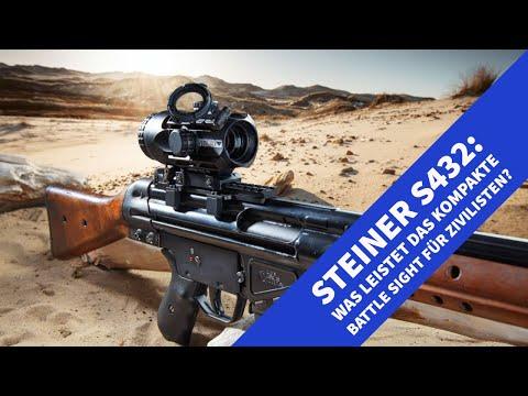 steiner-optik: Steiner S432 im Test und Video: Was kann die ursprünglich als Gefechtsvisierung entwickelte Optik?