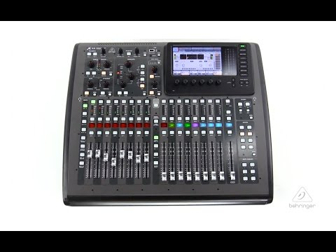 X32 COMPACT 40-Input, 25-Bus Digital Mixer with 16 Programmable MIDAS Preamps, 17 Motorized Faders