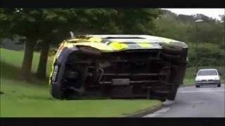 Casualty - Ambulance Gets Rammed off the Road