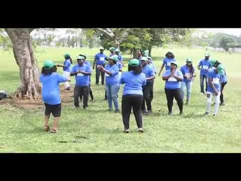 Dr Edith Iyasere powers up a dance chain challenge in Edo State Nigeria