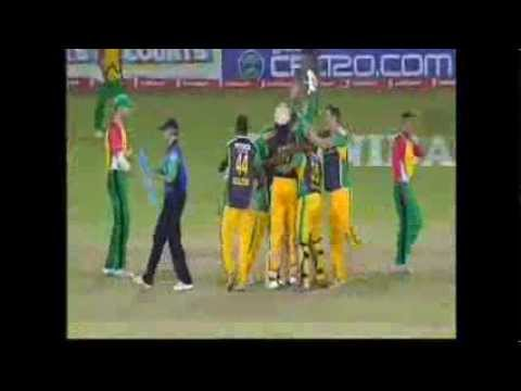 Highlights Final Match CPL 2013   Jamaica Tallawahs vs Guyana Amazon Warriors