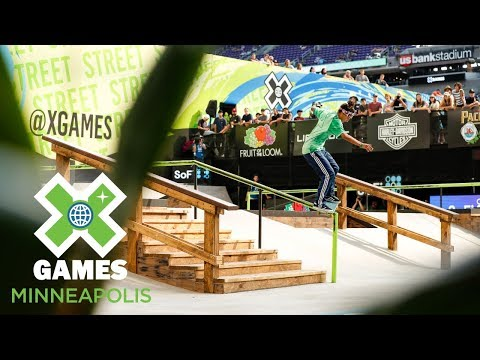 Mariah Duran wins Women's Skateboard Street gold | X Games Minneapolis 2018