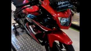 Review Kawasaki ninja RR 150 spesial edition 2015