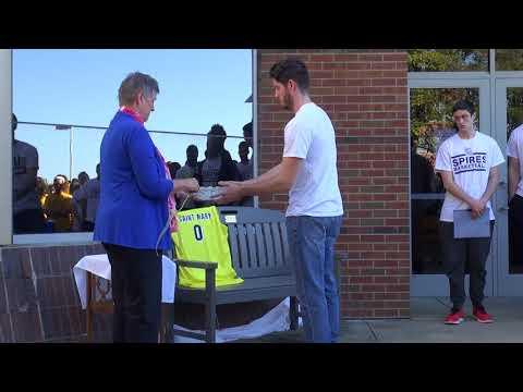 2017 Marcus Mondaine Bench Dedication