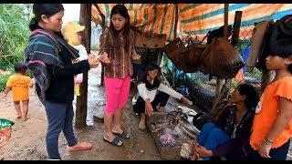 Theo Chị His bán Ốc trong thôn - Hương vị đồng quê - Bến Tre - Miền Tây