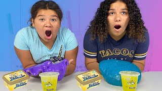 FIX THIS mini Food STORE BOUGHT SLIME CHALLENGE!!