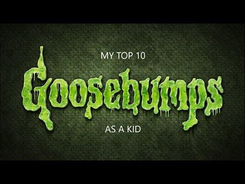 My Top 10 Goosebumps books