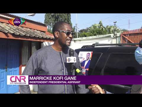 Marricke Gane accuses EC of not giving him audience after disqualification | Citi Newsroom