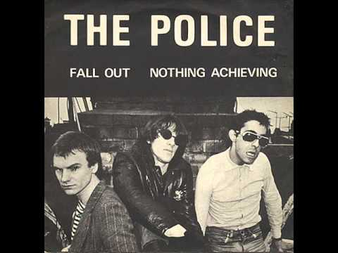 "THE POLICE: ""Fall out"", 1977"