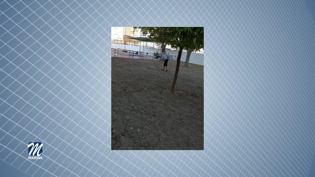 ADECUACIÓN Y MEJORAS EN LAS ZONAS COMUNES DEL COLEGIO DE SABINILLAS  PARQUES Y JARDINES