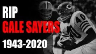 RIP Gale Sayers - Kansas Comet Dead at 77 - 1966 - Packers @ Bears